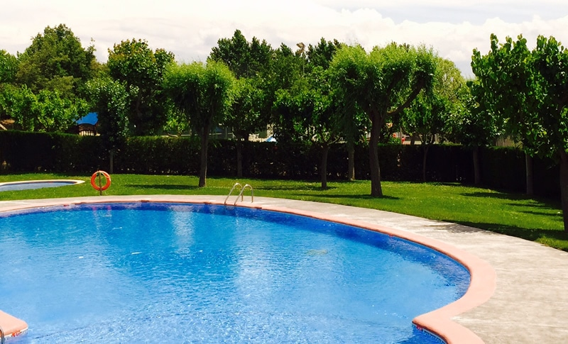 Piscina ecol gica del camping solson s campings familiares for Piscina ecologica