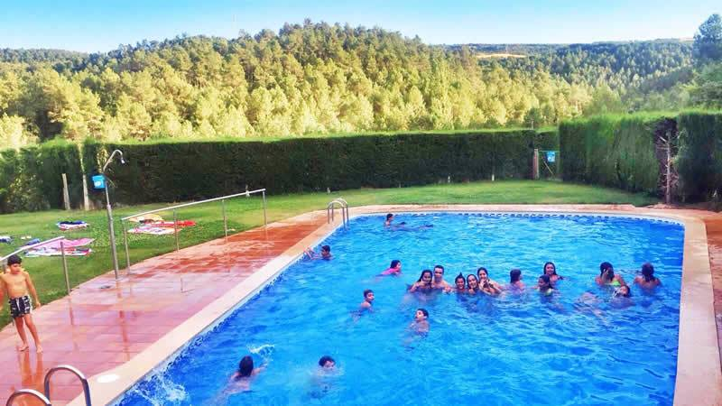 Camping cal parad s 3 cat campings familiares for Camping con piscina cerca de madrid